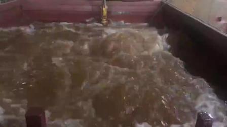 潜水搅拌机出厂测试