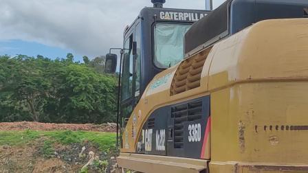 卡特336挖机带的钻机