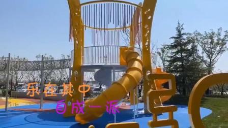 定制户外大型不锈钢滑梯公园园林景观商场游乐设备厂家