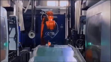 PE管件全自動生產車間