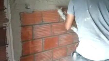 新款水泥砂浆喷涂机喷浆机粉墙施工视频