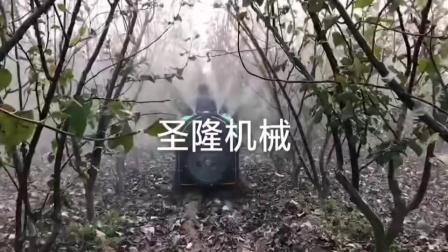 乘坐式果树打药机视频