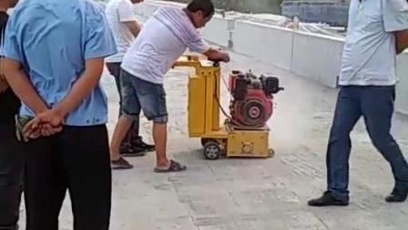 小型混凝土銑刨機 手推式地面拉毛機 深淺可調銑刨機