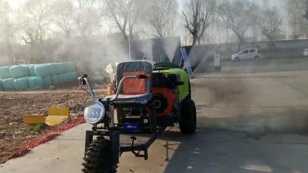 鄭州牽引式風送噴霧機,桃果樹打藥機