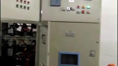 正在调试高压电机固态软启动柜