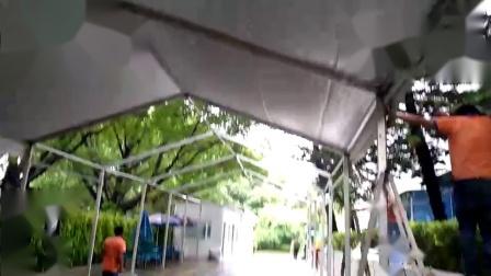 宝安大型活动欧式篷搭建现场