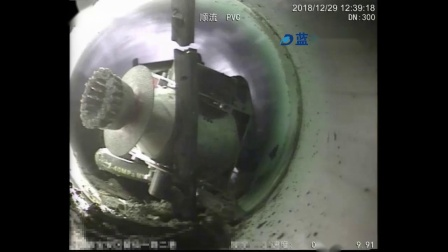 管道切割机器人