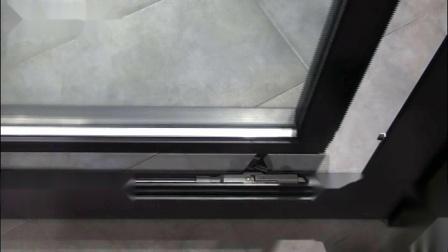 美狮隆门窗系统门下滑车演示