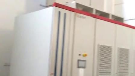 SVG动态补偿柜安装现场