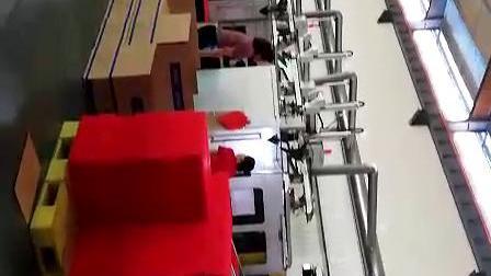 添速地板生产流水线