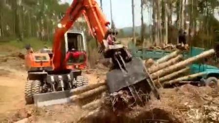 85型建筑工地小型挖掘机