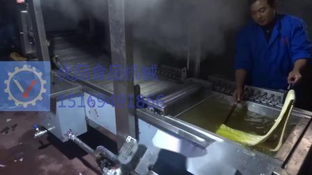 馓子自动油炸机