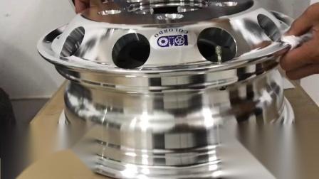 中巴車鍛造鋁合金萬噸級輪轂1139