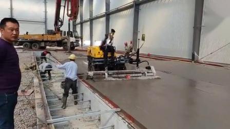 整平头左右滑移混凝土摊铺激光整平机提浆振捣整平机路得威混凝土找平机 厂家