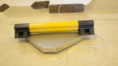 550mm黄黑钢质停车杆