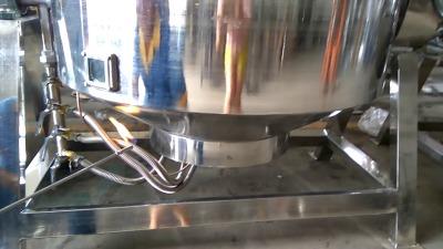 可倾式燃气加热夹层锅