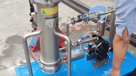 烛式过滤机试验-硅藻土过滤