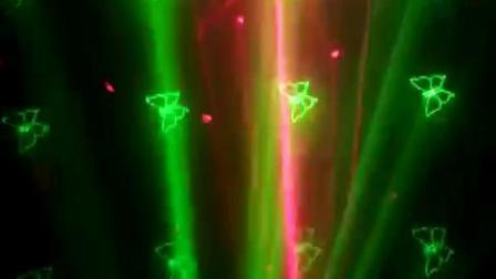 舞檯燈光廣州鑫橙雙孔紅綠鐳射燈舞檯燈光