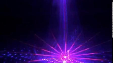 舞檯燈光廣州鑫橙紅綠三色大圖鐳射燈舞檯燈光