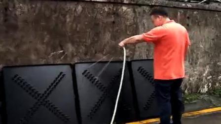 红叉绿箭淋水检测