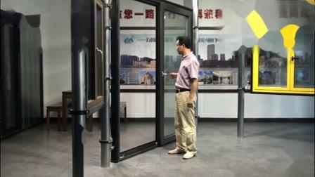 兴发铝业美狮隆门窗系统旋开平移门内开启演