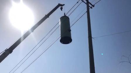 太原智能一体化污水泵站吊装视频