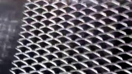 钢板网生产过程