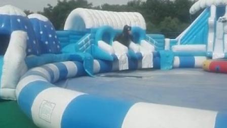 安徽合肥網紅橋充氣氣墊專業訂製老廠