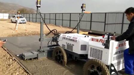 S-840液壓四輪座駕式攤鋪機施工視頻