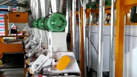 永豐廠家直供6F22350*3三機一次淨麪粉機