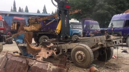 挖掘机拆车机