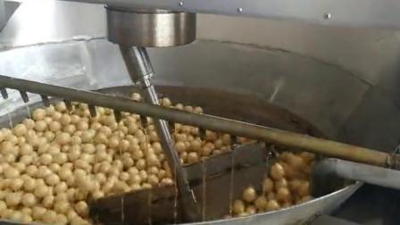 燃气炒锅面筋球 低能耗燃气面筋发泡清水面筋