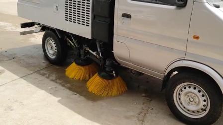 长安小型扫路车操作视频