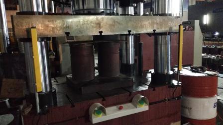 油壓機廠家500噸冷擠 四柱雙動快速冷擠液壓機