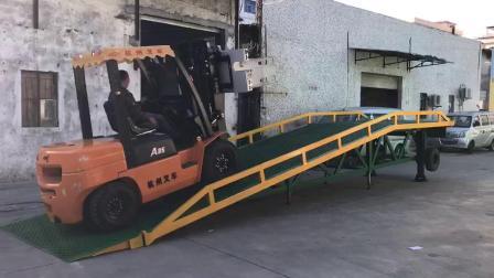 永州市移動式登車橋|簡易式移動式登車橋