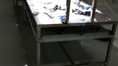 定制非标 防静电木板拉生产线 不锈钢带灯架工作台
