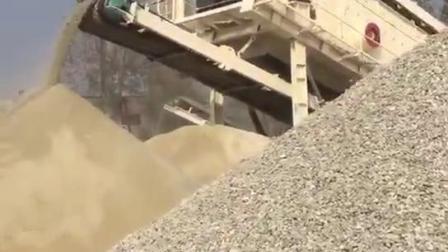 泰安移動山石破碎站 嗑石機碎石機生產線 恆美百特