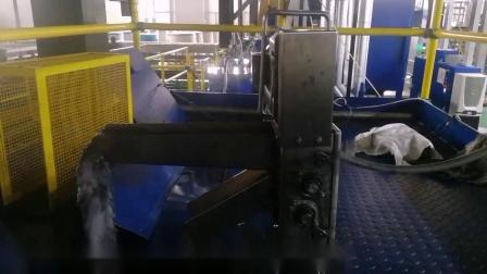 小型编缆带撇油机