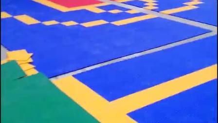 幼儿园施工拼装悬浮地板