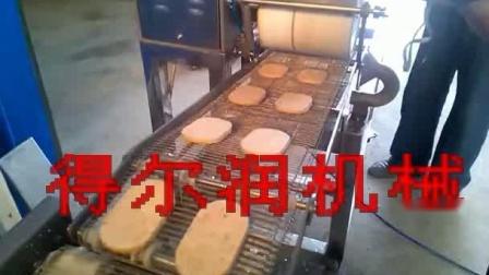 汉堡肉饼自动成型上浆裹糠机