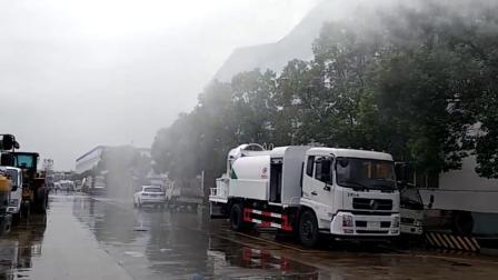 东风天锦10方多功能抑尘喷雾车厂家