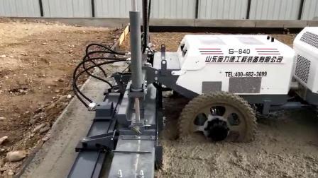 四輪S-840室外施工視頻