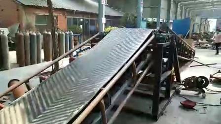 双升降皮带输送机视频