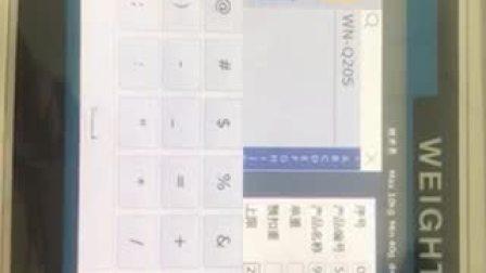 带报警带打印功能电子秤操作视频