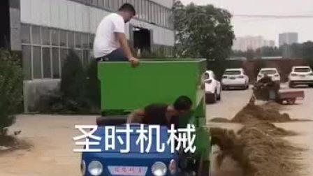 饲养场喂料三轮车 电动撒料车 自动喂料车直销