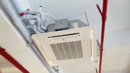 水空调餐厅天花机,水冷写字楼用卡式风机盘管