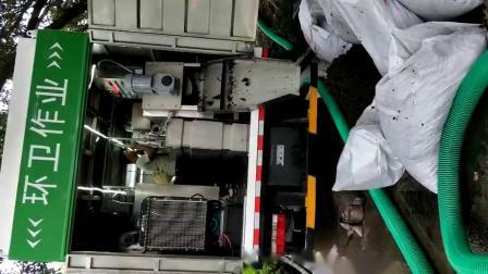 糞便淨化環衛吸糞車 多功能乾溼分離吸污淨化車