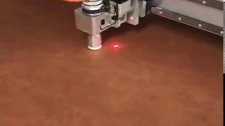 皮革数控切割机 高频振动刀裁剪机 柔性材料切割机