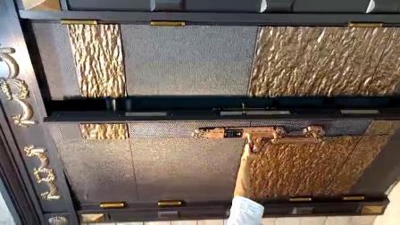 鑄鋁門金屬門甲級鋼製防盜門