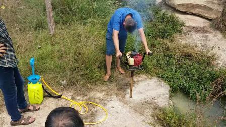小型单人背包岩心钻机 手持式取样钻机